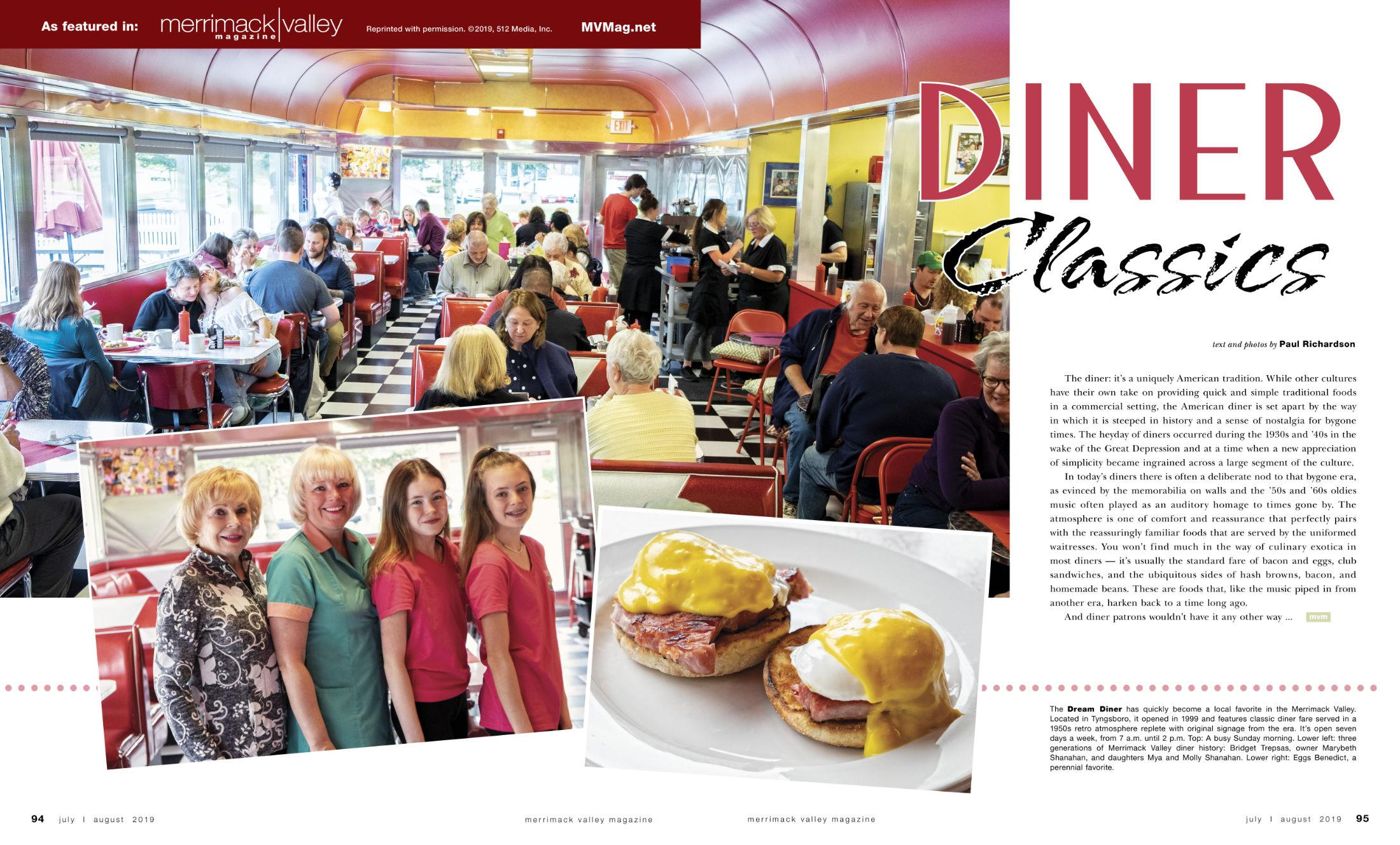 MVM DREAM DINER REPRINT 2200